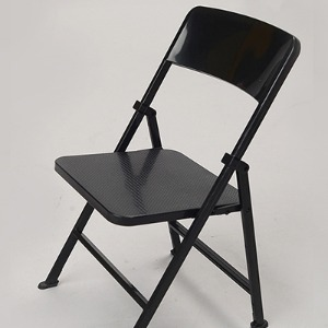 15cm Folding Chair (접이식 의자 / Black)
