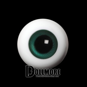 28mm Solid Glass Doll Eyes - PW02(B)