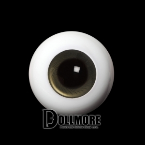 28mm Solid Glass Doll Eyes - PW25(B)