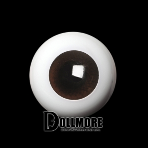 24mm Solid Glass Doll Eyes - PW06(W)
