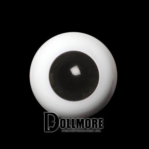 24mm Solid Glass Doll Eyes - PW10(B)