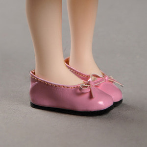 [40mm] Mona Doll - Basic Ribbon C Shoes (Pink)