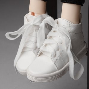 [90mm] (선주문) Model F & SD - DH Running Shoes (White)