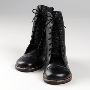 [140mm] Trinity Doll - Basic M Boots (Black)