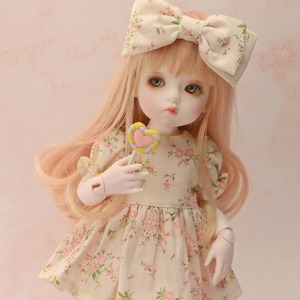 (선주문) [USD] Dear Doll Size - FMB Dress (Beige)