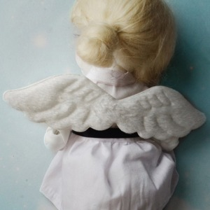 USD & MSD - Flat Cushion Wings (Ivory)